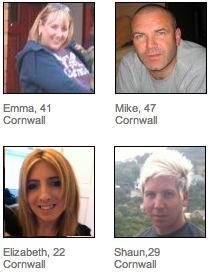 Cornwall Dating Members